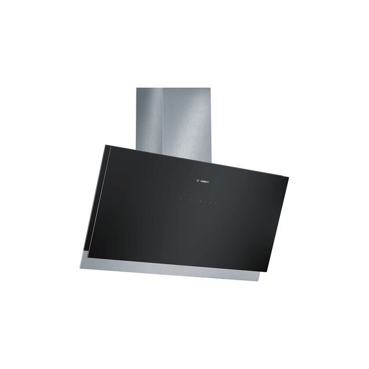 Hota incorporabila decorativa Bosch DWK098G61, Design inclinat, Putere de absorbtie 850 mc/h - Iak