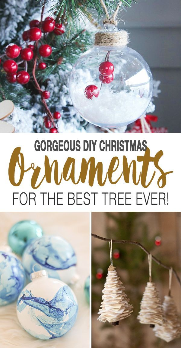 Gorgeous Diy Christmas Ornament Ideas For The Best Tree Ever Ohmeohmy Blog In 2020 Diy Christmas Ornaments Christmas Ornaments Christmas Diy