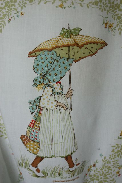 Vintage Holly Hobbie | Vintage Holly Hobbie Sheet | Flickr - Photo Sharing!