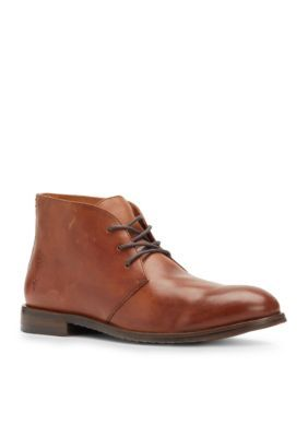 Frye Men's Sam Leather Chukka Boots - Cognac - 10.5M