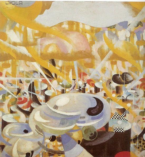 Five o'clock tea, 1917 Julius Evola