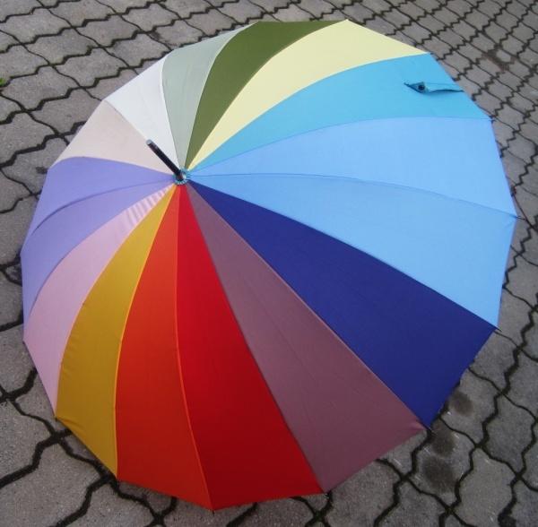 Радужный зонтик-трость