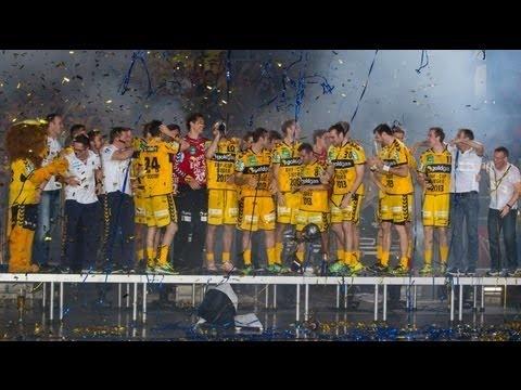 Das letztes Saisonspiel und die Abschlussfeier #ehfcupsieger