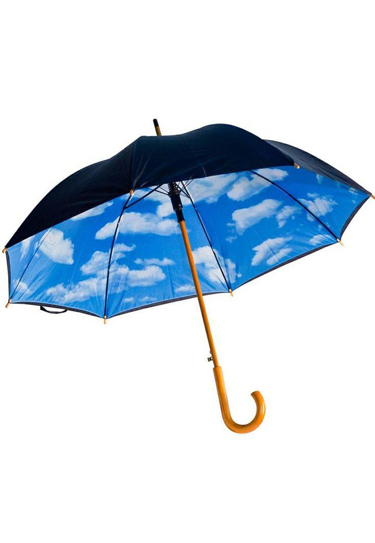 Always blue skies umbrella // Love this! #product_design