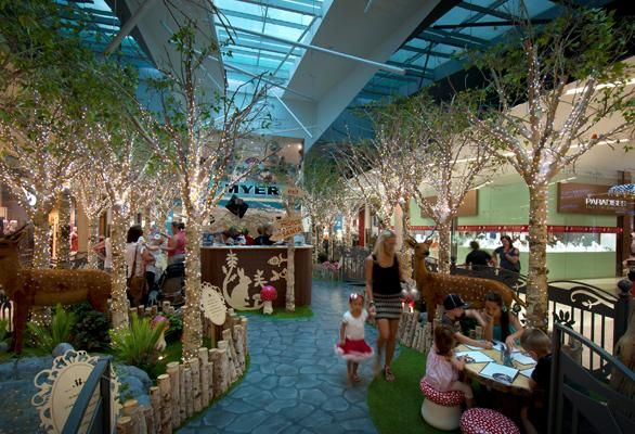 Project Gallery | Chas Clarkson   Enchanted Forest Robina Town Centre QLD