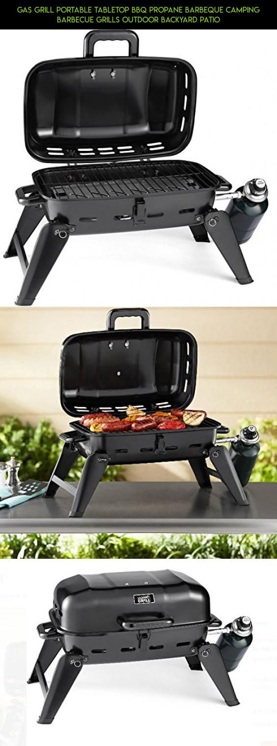 Gas Grill Portable Tabletop BBQ Propane Barbeque Camping Barbecue Grills Outdoor Backyard Patio #drone #grills #propane #tech #products #plans #kit #fpv #gadgets #technology #parts #gas #portable #shopping #camera #racing