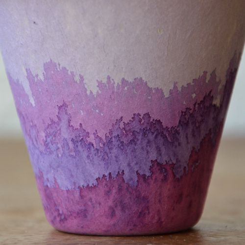 dip dyed cups. by studio choo on ds*: Dye Cups, Dip Dyed, Craft Ideas, Diy, Dips, Crafts, Dyes