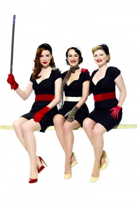 Read All About It | The Puppini Sisters on http://www.thegirlsare.com