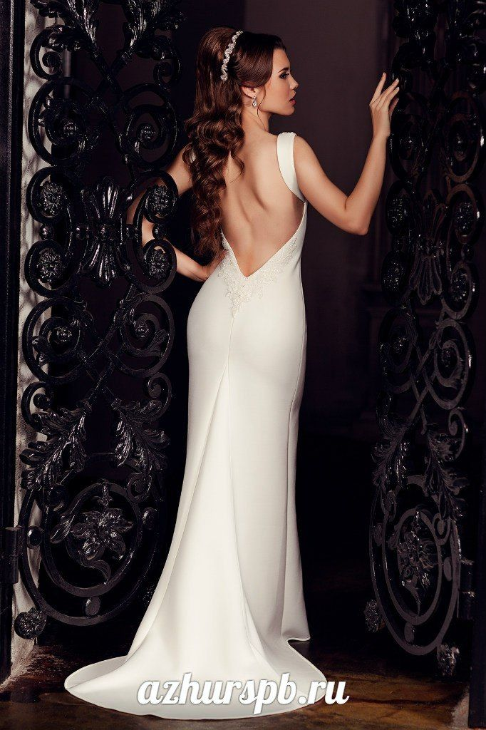 wedding dress 2016 open back