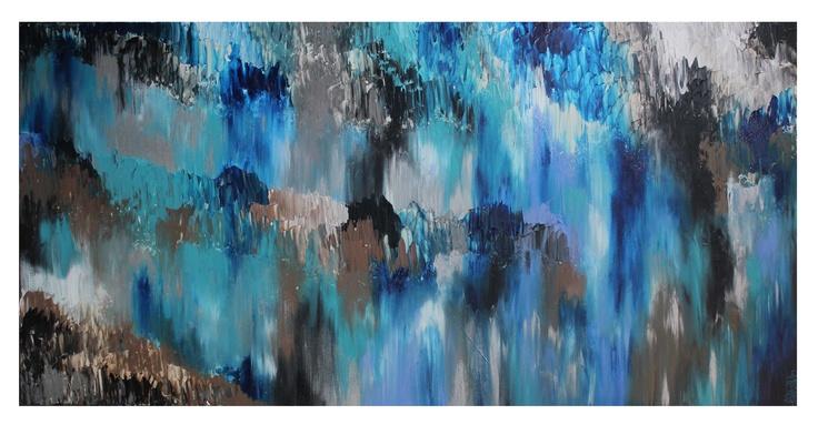 Untitled 99, 60x36, Acrylic on Canvas