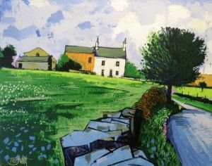 """""""Yorkshire Farmhouse"""" by Terry Wood"""
