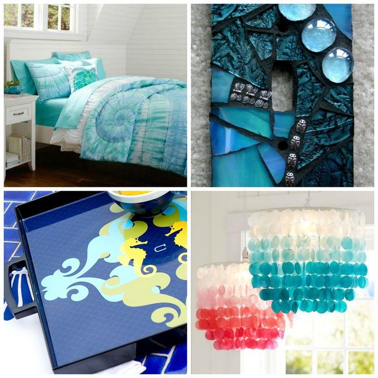 College Bedroom Decor, College Dorm Lights And