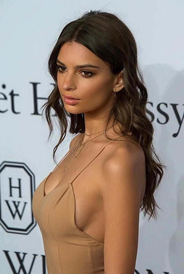 """Emily Ratajkowski (born: June 7, 1991, Westminster, United Kingdom) is an American model and actress. She was born in London to American parents and raised primarily in California. She rose to prominence after appearing in the music video for Robin Thicke's """"Blurred Lines"""". She appeared in the 2014 and 2015 Sports Illustrated Swimsuit Issues. She made her professional runway modelling debut at Spring/Summer 2016 New York Fashion Week in 2015. Her feature film debut was in Gone Girl (2014)."""