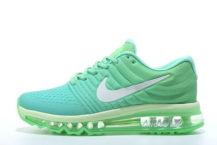 Men\'s Nike Air Max 2017 Shoes Green/Mint/White