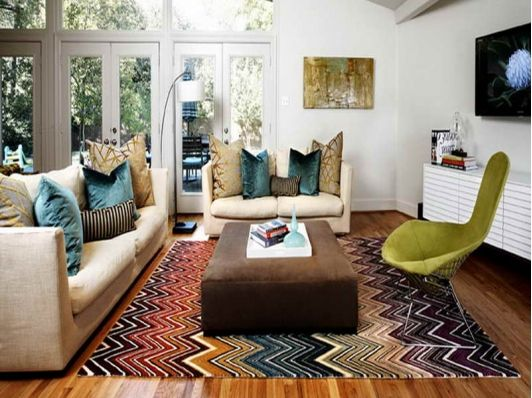 1000 ideas about chevron carpet on pinterest carpets for Simple and cheap living room ideas