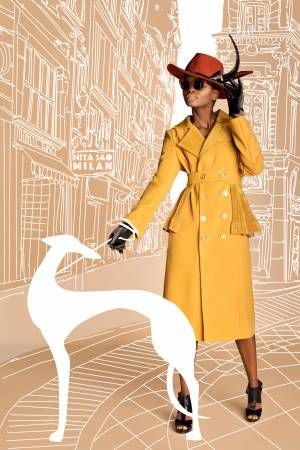 I'm a hat maker that is constantly asked what type of clothes go best with hats. 'A good trench coat or coat!' I always find myself saying.But they're not easy to find. Especially ones with a strong personality, to match the hat. So here it is, NITA SAO's first clothing collection. For strong, bold and chic women! Put one on and conquer your city! #millinery #designer #HouseOfNITASAO