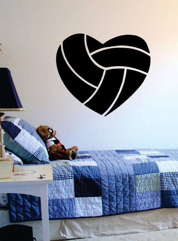Best Decals Images On Pinterest Vinyl Decals Wall Stickers - Vinyl volleyball wall decals