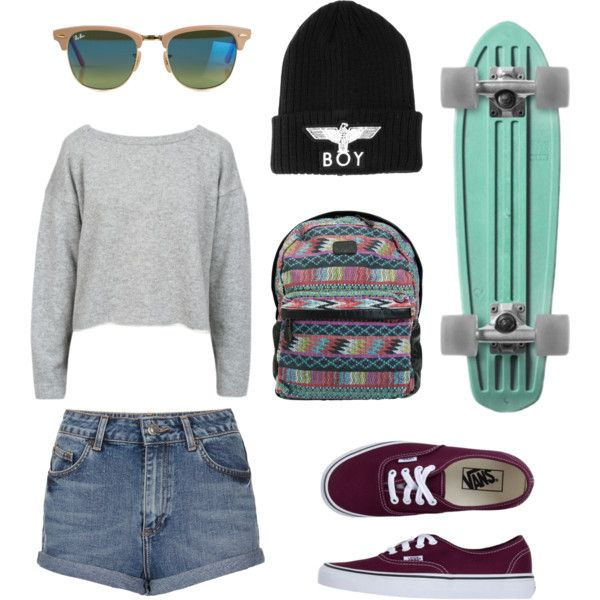 """Longboard outfit"" by marian16399 on Polyvore  Living that life"