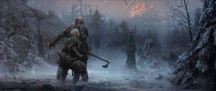 New God of War art - NeoGAF