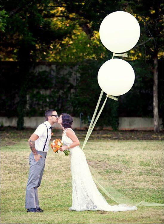 Mi Wedding Diario: Una suelta de Globos en Vuestra Boda