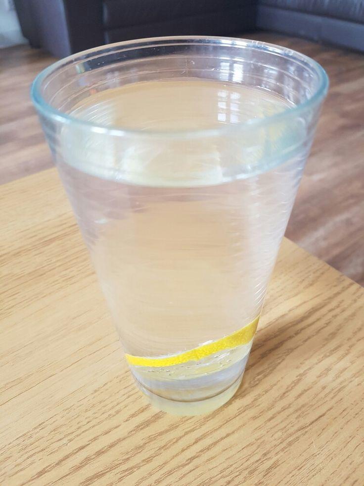 Lemon Infused water for detox!