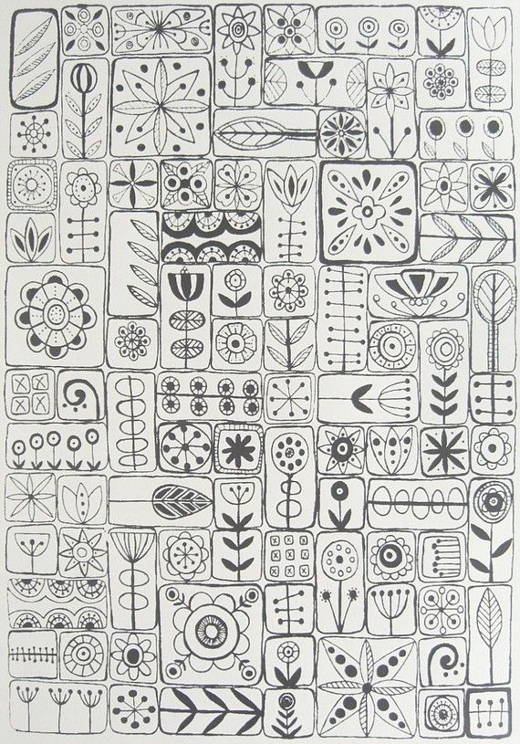 great inspiration for an embroidery sampler
