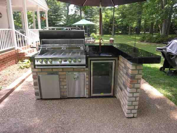 Compact Outdoor Patio Kitchen Outdoor Kitchen Grill Small Outdoor Kitchens Outdoor Kitchen Decor