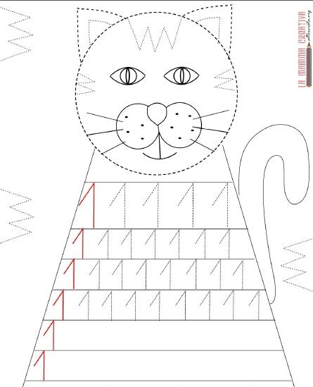 cat number 1 trace worksheet