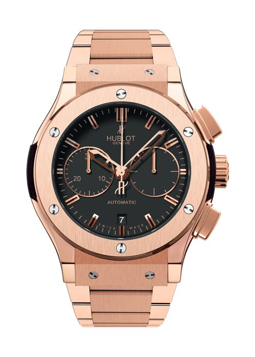 Classic Fusion King Gold Bracelet Chronograph watch from Hublot