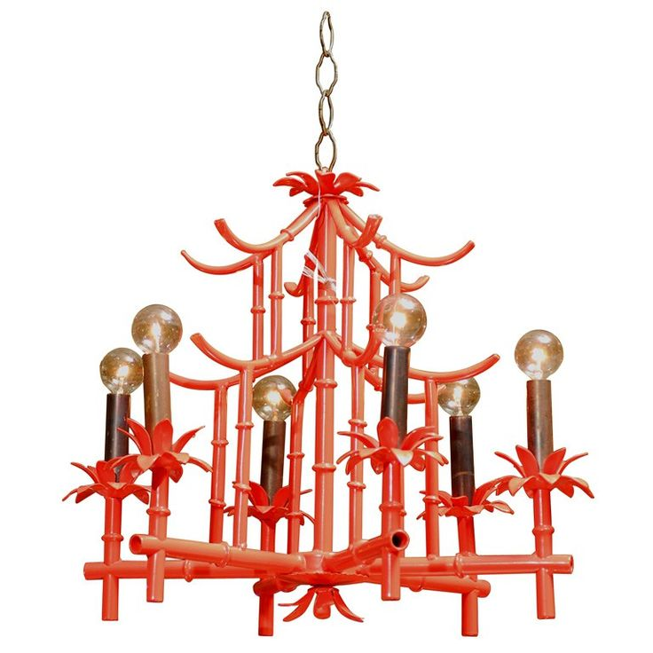 Inexpensive Red Chandelier: CHEAP TO CHIC: BAMBOO CHANDELIERS