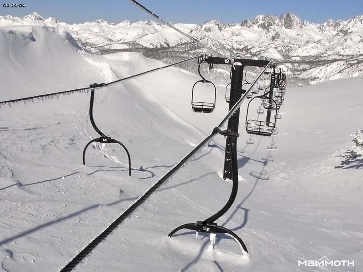Mammoth Mountain Wintertime