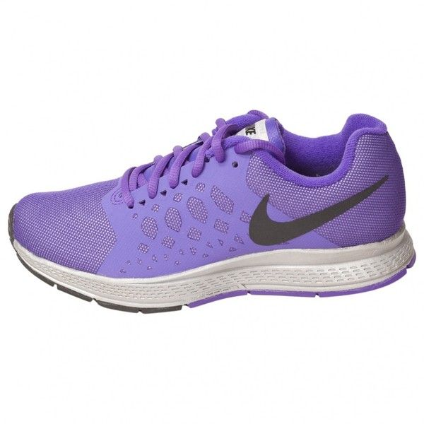 Pre-owned Nike Purple Trainers (5.220 RUB) ❤ liked on Polyvore featuring shoes, sneakers, purple, purple shoes, nike shoes, nike trainers, pre owned shoes and nike