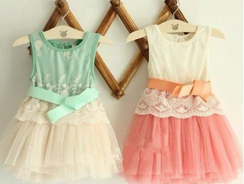 Beautiful lace tutu dresses in mint and coral    Available in sizes 2,3,4,5 and 6.