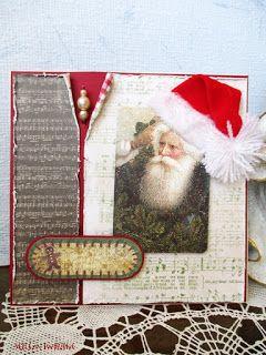 sercem tworzone: Majowa bożonarodzeniowa z czapeczką...