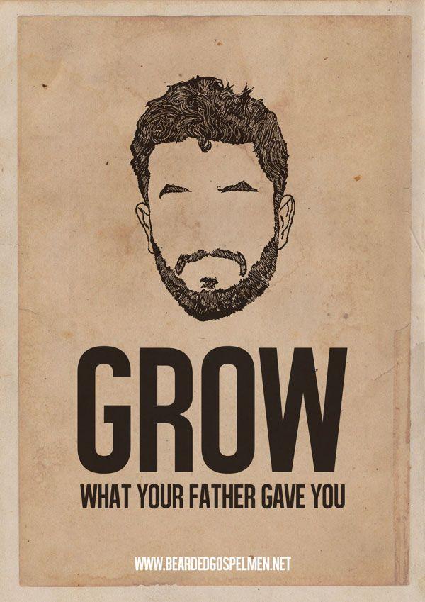 A Beard Man is a Real Man