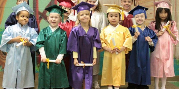 Kindergarten Graduation Cap And Gown