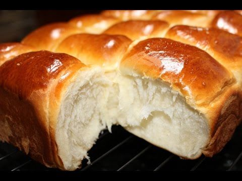 How to make Bakery Style Super Soft Chewy Dinner Rolls | 微波面包 - YouTube