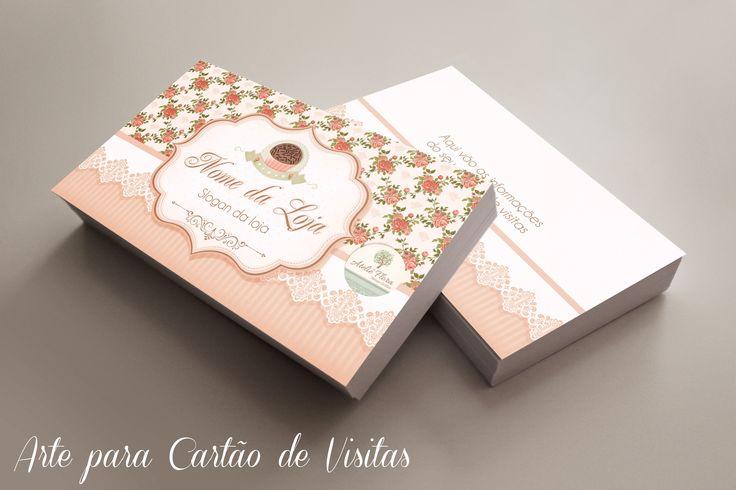 Arte Cartão de Visitas para Brigaderia Gourmet e Confeitaria. Veja mais em: http://www.ateliefloradg.com.br/