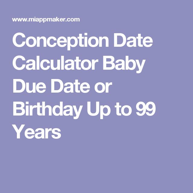 Due Date Calculator for Pregnancy | Free Downloads