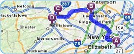 Mapquest Route Planner provides you with multi-stop driving directions and selects the fastest driving routes.Getting driving directions has never been easier.