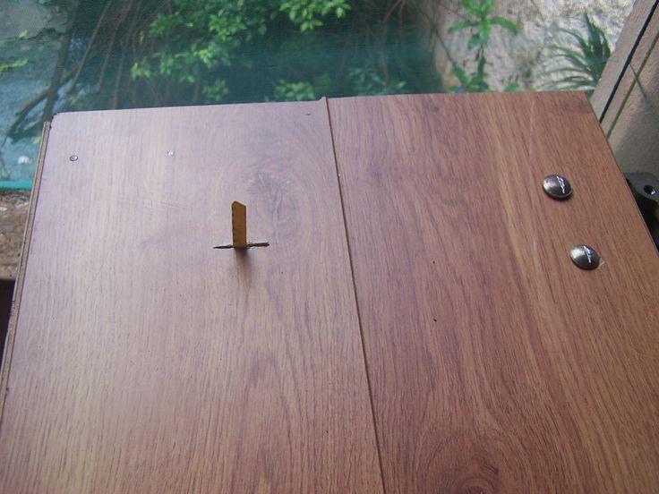 Serra Tico-tico de bancada feita com maquina de costura