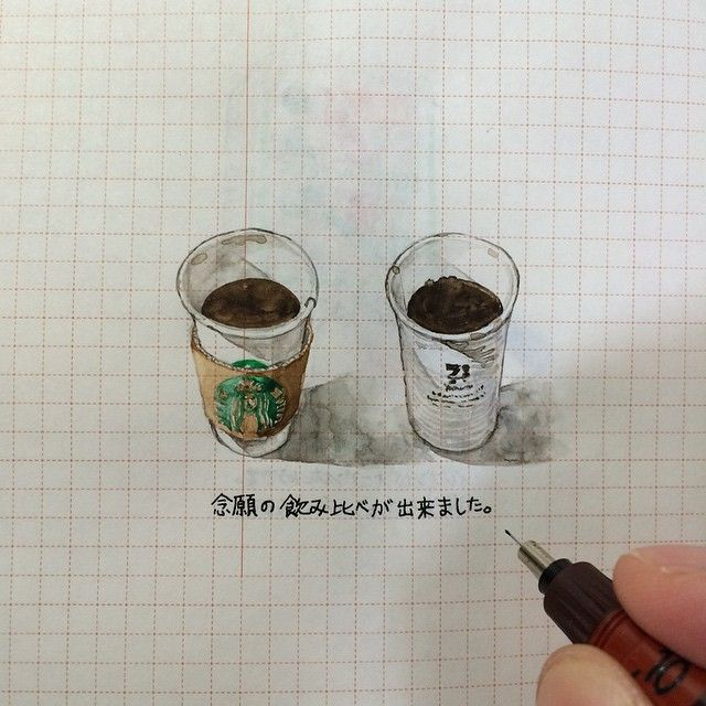 ha_ss 141002 #ほぼ日手帳 #hobonichi #イラスト #illust #スタバ #ドリップコーヒー #すっきりめ ... | Use Instagram online! Websta is the Best Instagram Web Viewer!