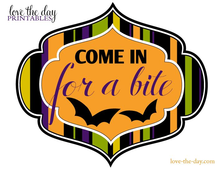FREE Halloween Printable Download