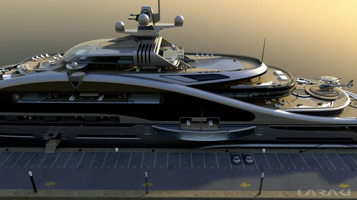 yacht pictures | Laraki designed luxury yacht Prelude – side view – Laraki Yacht…