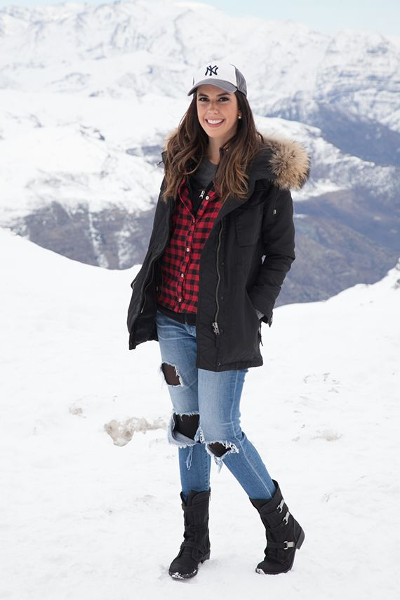 Look do dia: Frio em Valle Nevado!