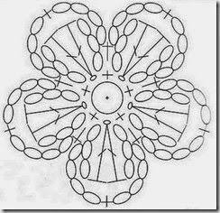 119 best crochet flower images on pinterest crocheted flowers 5 petal flower crochet dt1010fo