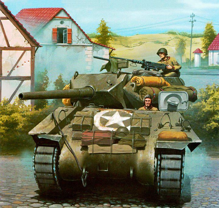 Pin by Bubba Steve on Military Tank Art | Ww2 tanks, Tank destroyer