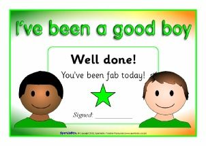 Preview & Download  A group of colourful printable certificates to reward children for good behaviour each day or week. Good Boy and Girl Certificates (SB1614)
