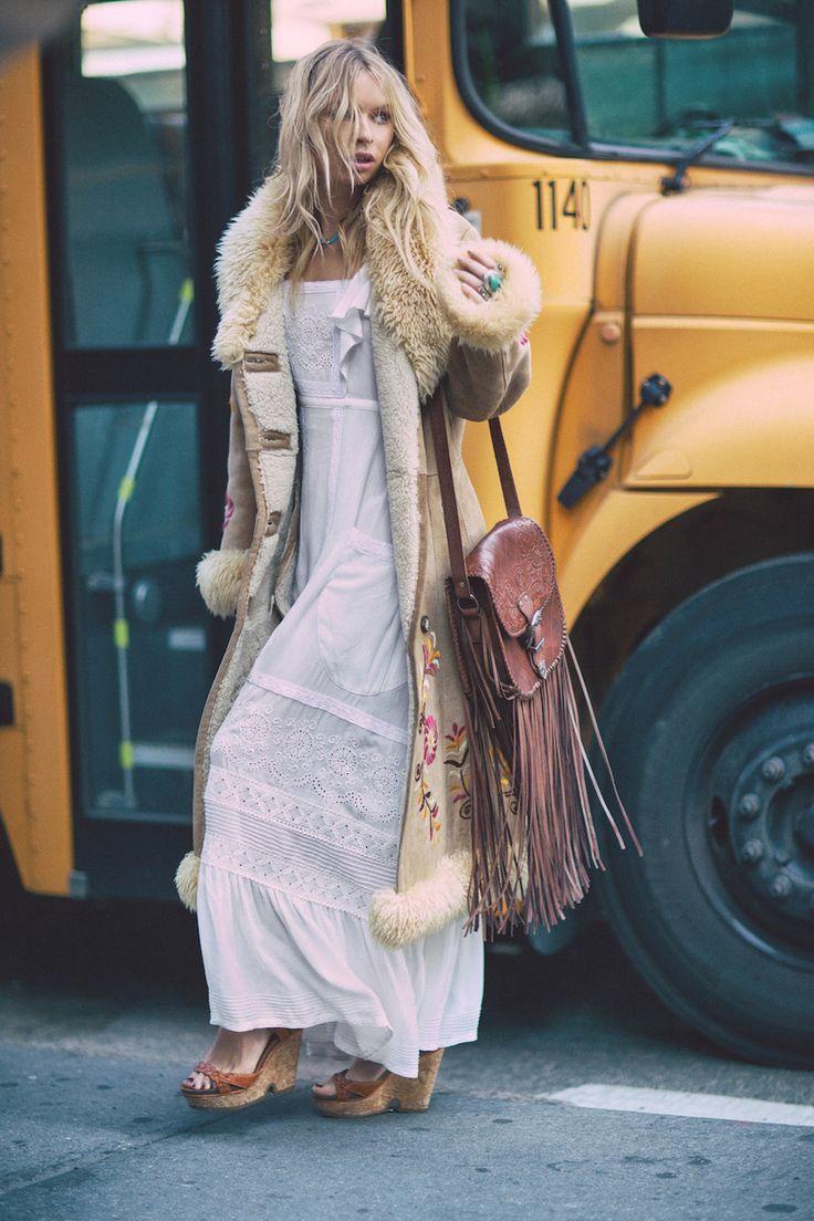 » boho fashion » bohemian style » gypsy soul » festival » living free » elements of bohemia » wanderer » love of fringe » bohemian dresses + skirts » free spiri