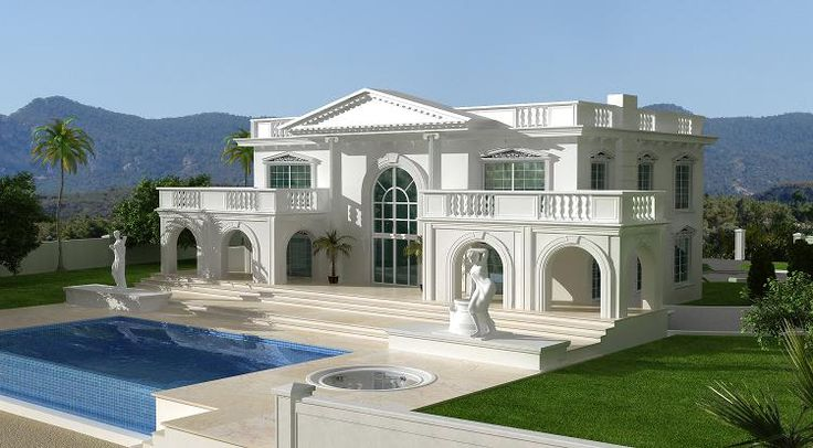Beautiful homes houzz for Luxury house in dubai